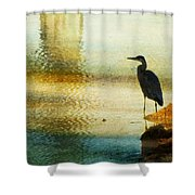The Lonely Hunter II Shower Curtain by Amy Tyler