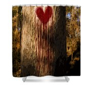 The Lonely Tree Shower Curtain by Jorgo Photography - Wall Art Gallery