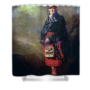 The Macnab Shower Curtain by Sir Henry Raeburn