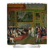 The Marriage of Eugene de Beauharnais Shower Curtain by Francois Guillaume Menageot