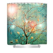 The Memory Of Dreams Shower Curtain by Tara Turner