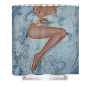 The Milk Bath Shower Curtain by Sergey Ignatenko