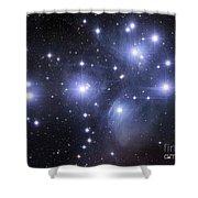 The Pleiades Shower Curtain by Robert Gendler