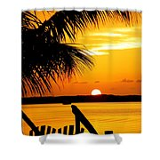 The Promise Shower Curtain by Karen Wiles
