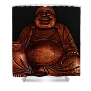 The Protector Of Wealth Shower Curtain by Nancy Harrison