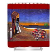 The School Of Metaphysical Thought Shower Curtain by Dimitris Milionis
