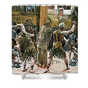 The Scourging Shower Curtain by Tissot