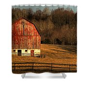 The Simple Life Shower Curtain by Lois Bryan