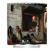 The Slave Market Shower Curtain by Jean Leon Gerome