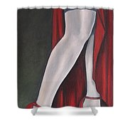 The Slit Shower Curtain by Jindra Noewi