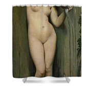 The Source Shower Curtain by Ingres