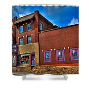 The Strand Theatre - Old Forge New York Shower Curtain by David Patterson