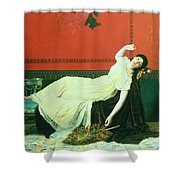 The Studio Shower Curtain by Sophie Anderson