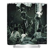 The Sundance Shower Curtain by Frederic Remington