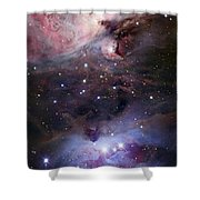 The Sword Of Orion Shower Curtain by Robert Gendler