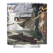 The Vision Shower Curtain by Luc-Oliver Merson