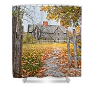 The Whipple House Shower Curtain by Susan Cole Kelly