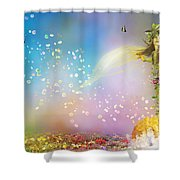 They Call Me Spring Shower Curtain by Mary Hood