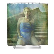 This Is My Heart Shower Curtain by Laurie Search