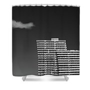 Three Steps to Heaven Shower Curtain by Dave Bowman