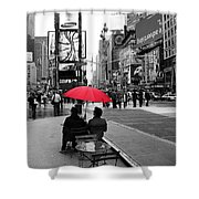 Times Square 5 Shower Curtain by Andrew Fare