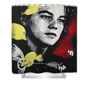 Titanic 2013 Shower Curtain by Luis Ludzska