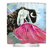 Toroscape 34 Shower Curtain by Miki De Goodaboom