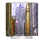 Trading Places Shower Curtain by John Robert Beck