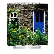 Traditional Cottage, Co Cork Shower Curtain by The Irish Image Collection