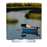 Tranquil Cape Cod Photography Shower Curtain by Juergen Roth