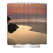 Tranquility Shower Curtain by Mike  Dawson