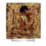 Transition Shower Curtain by Kurt Van Wagner