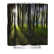 Tree Abstract Shower Curtain by Avalon Fine Art Photography