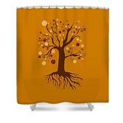 Tree Shower Curtain by Frank Tschakert