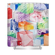 Trey Anastasio-Never get out of this maze Shower Curtain by Joshua Morton