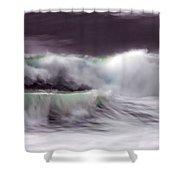 Tritan's Dance Shower Curtain by Donna Blackhall
