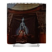 Tron  Shower Curtain by Rob Hans