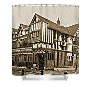 Tudor House Southampton Shower Curtain by Terri Waters