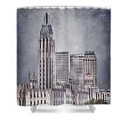Tulsa Art Deco II Shower Curtain by Tamyra Ayles