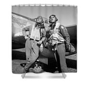 Tuskegee Airmen Shower Curtain by War Is Hell Store