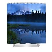 Twilight Majesty Shower Curtain by Mike  Dawson
