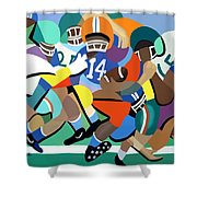 Two Minute Warning Shower Curtain by Anthony Falbo