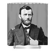 Ulysses S Grant Shower Curtain by War Is Hell Store