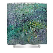 Blind Giverny Shower Curtain by Ralph White