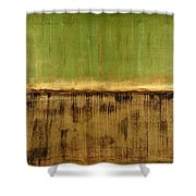 Untitled No. 12 Shower Curtain by Julie Niemela