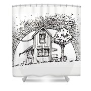 Untitled Shower Curtain by Tobey Anderson