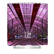 Urban Express Shower Curtain by Evelina Kremsdorf