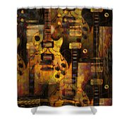 Use You Illusion Shower Curtain by Bill Cannon