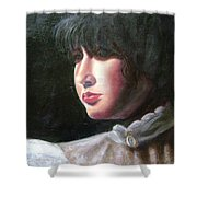 Victorian Blouse Shower Curtain by Toni Berry
