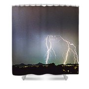View From Oaxaca Restaurant  Ll Shower Curtain by James BO  Insogna